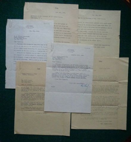 Antique Signed Letters Russian Emigre Boris Brasol Prince Romanovsky Orthodox